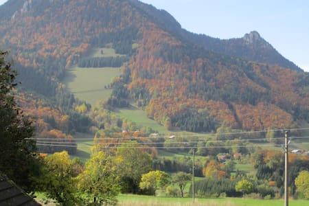 Chambre privée au coeur des Alpes - Vacheresse - Apartment