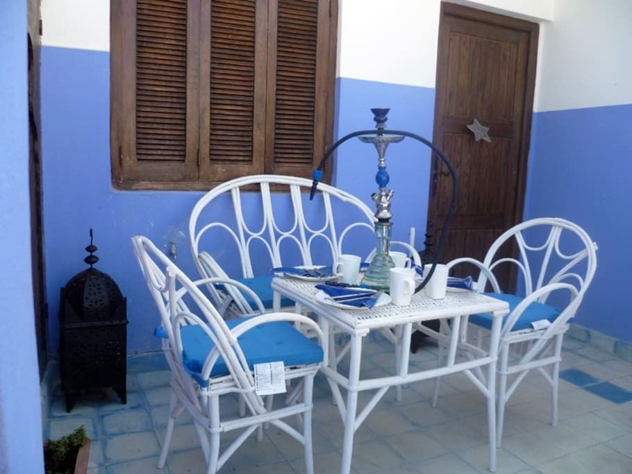Casa estrella gran terraza al mar houses for rent in asilah for Agadir moroccan cuisine aventura fl