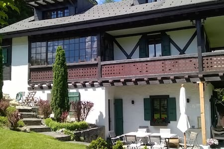 Exquisite Spacious 3 bedroom chalet - Gryon - Chalet