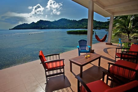 Waterfront on Panama´s Caribbean - House