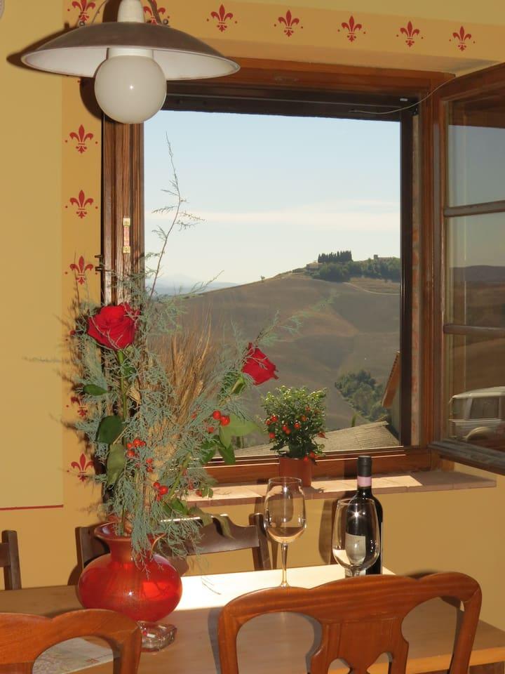 Beautiful Tuscan countryside, Siena