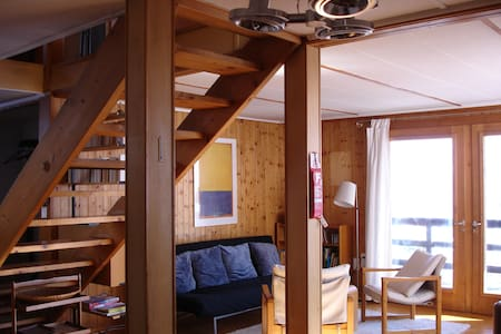 5 rooms Swiss wooden Chalet in Laax - Maison