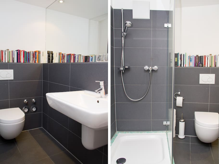 Your brand new bathroom with underfloor heating is for your exclusive use only.
