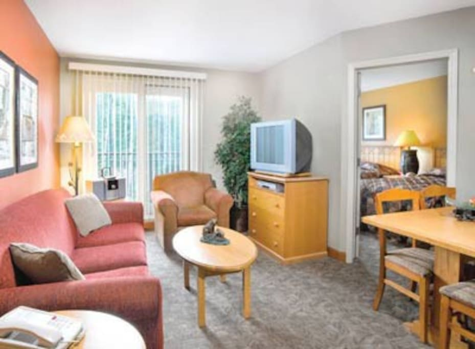 Studio Timeshare, Canmore-Banff #1
