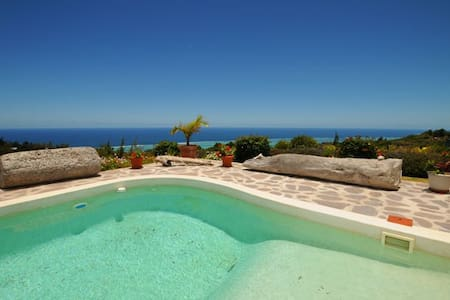 The view on the lagoon is fabulous - Rodrigues - Villa