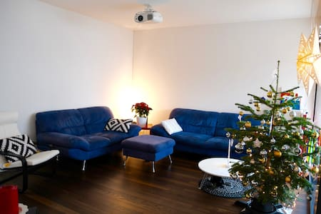 Bright bedroom close to Zurich Center & Airport - Uster