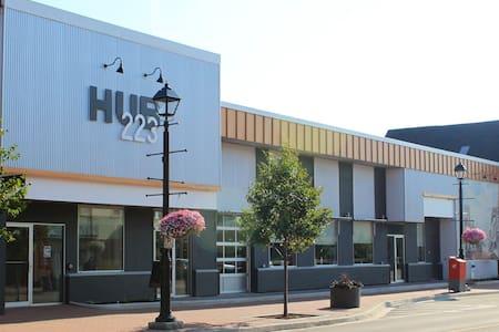 Downtown HUB223 Modern Studio Micro-Suite - Summerside