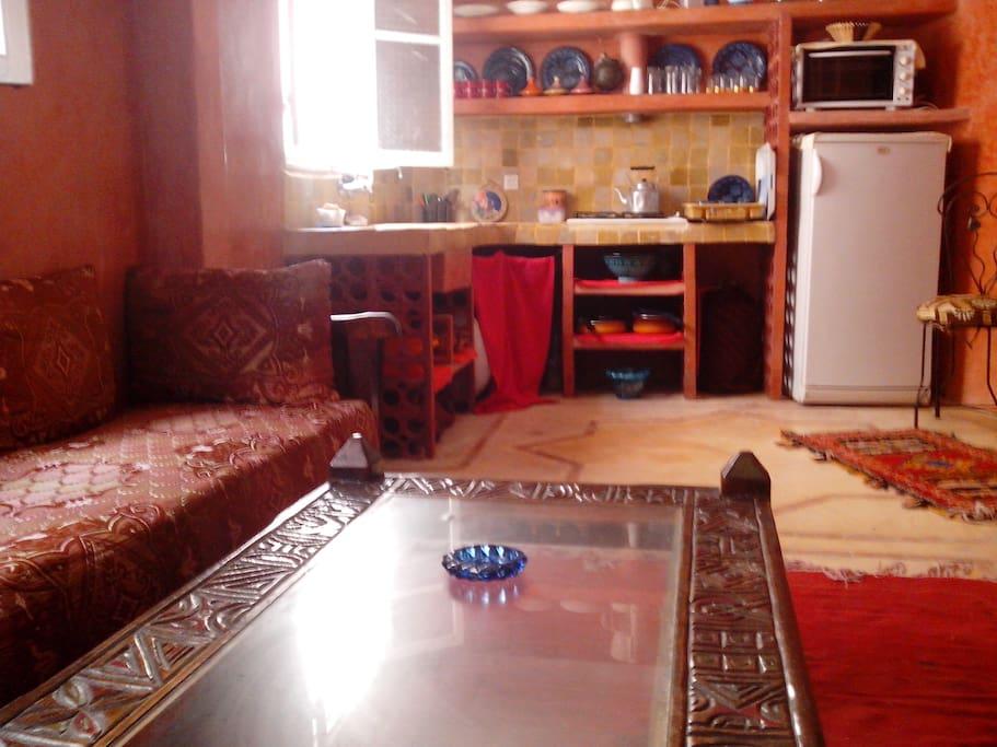 Küche integriert
