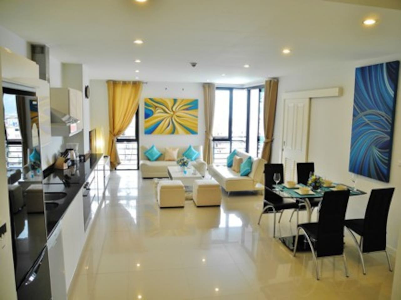 Spacious Apartment in Patong