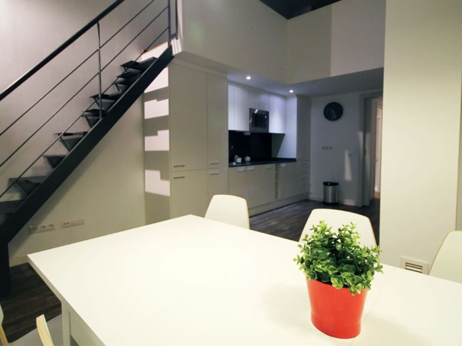 Spacious duplex&terrace up to 10