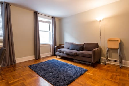 Location, Location, Location.  Located a few hundred yards from the actual park in a very quiet neighborhood.  5 minute walk to plenty of restaurants, bars, union square and the 23rd street subway station.