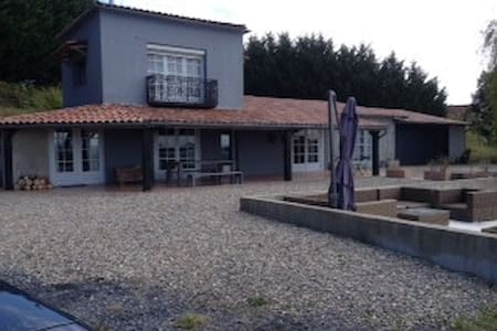 Prettig huis op 11ha landgoed - Armous-et-Cau - Dom