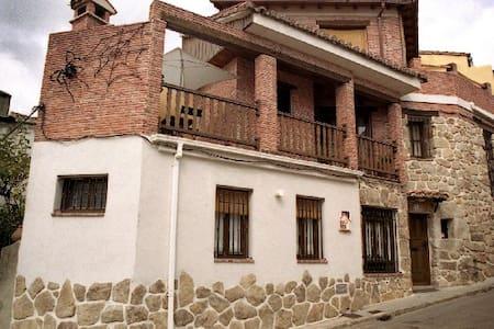 Casa Rural LA ARAÑA en Piedralaves - Casa