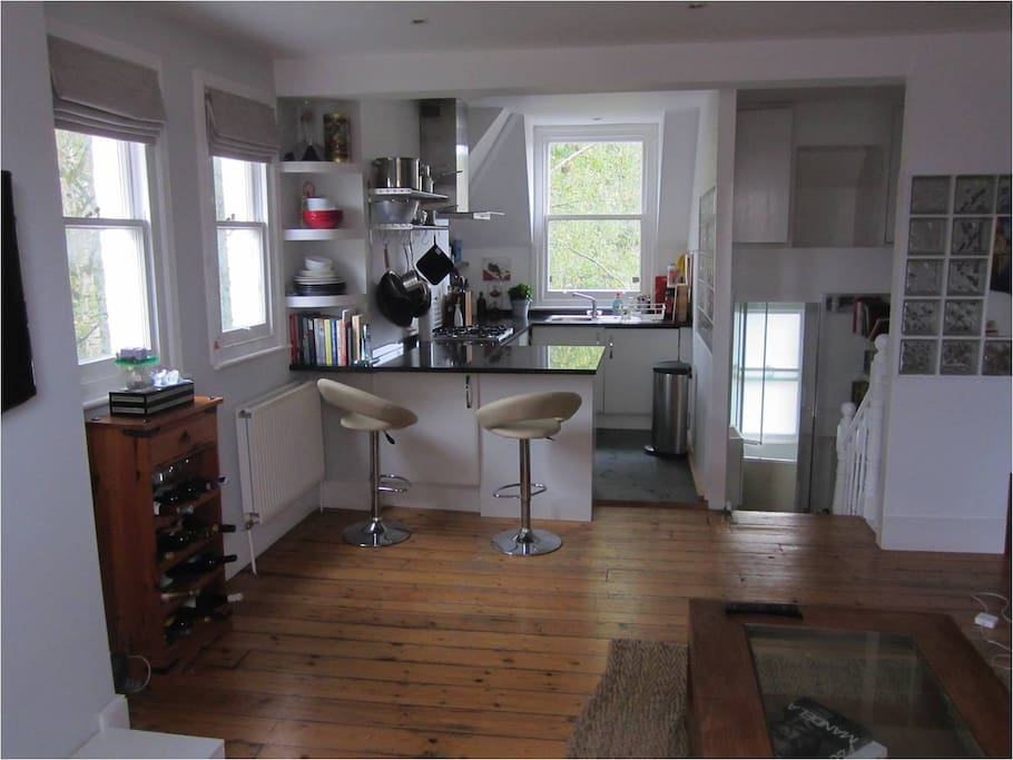 The Kitchen - Bright, Social and Complete