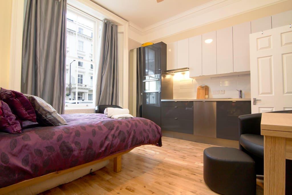 Studio Apartment in Pimlico