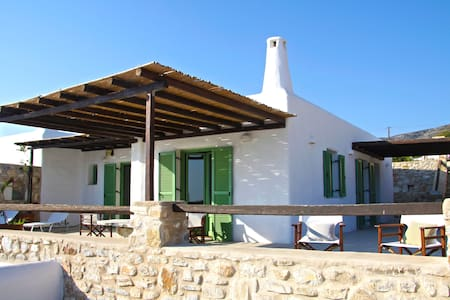 2Bdrm Villa Paros Amazing sea View - Huvila