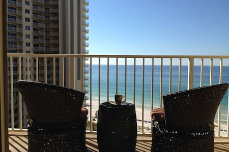 Aug & Sep reduced! Beachfront Condo w/parking - Panama City Beach - Apartment