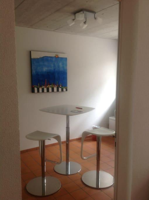 Blick ins Gästezimmer