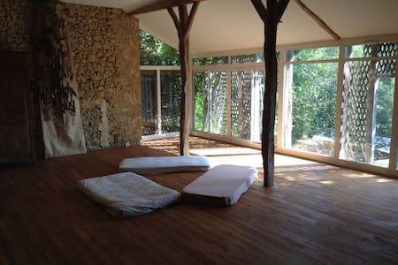 Atelier d'Artiste, studio de yoga - Idrac-Respaillès - Loteng Studio