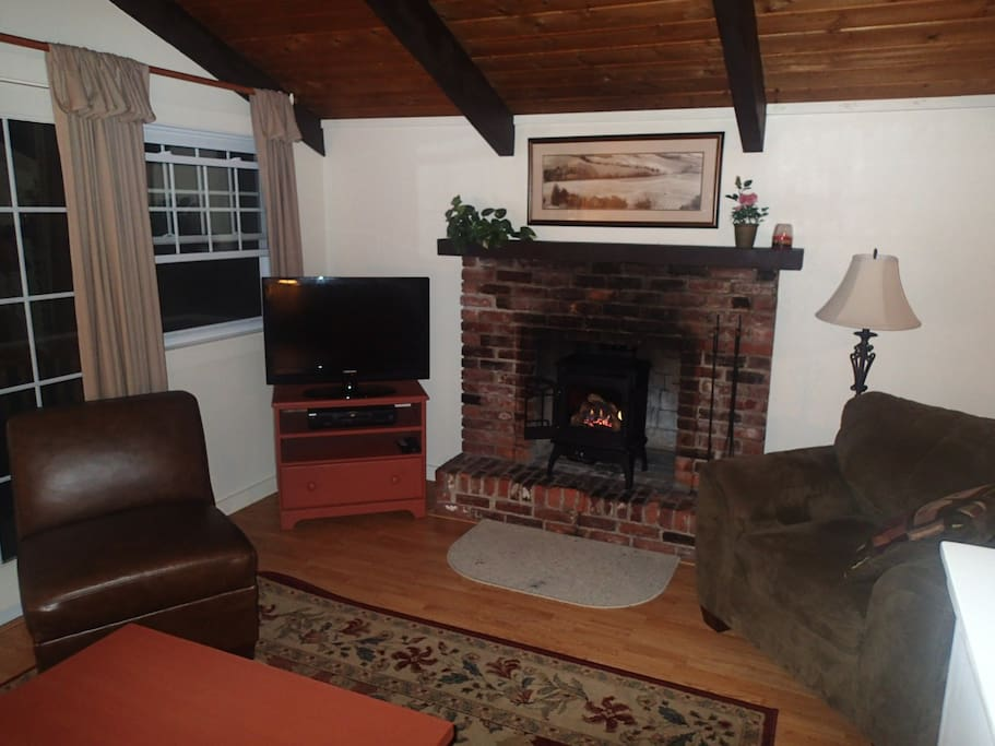 Gas Fireplace (new in Oct. 2013)