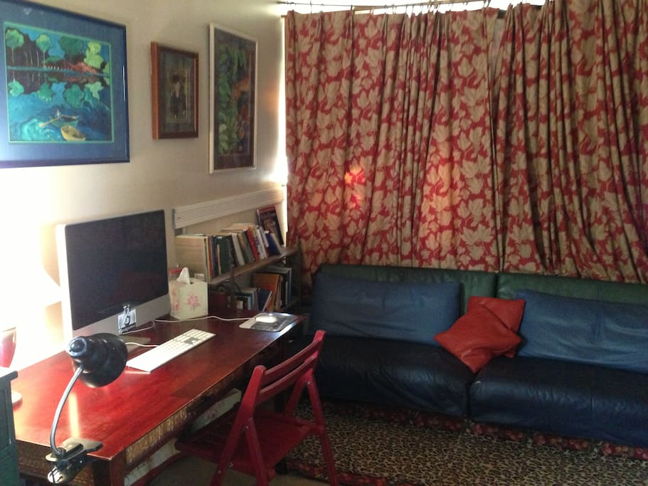 Desk (wifi available), couch, closet and two dressers