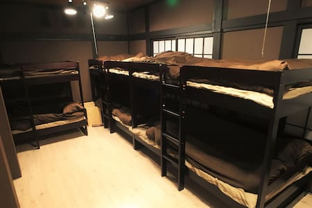 ⑦Nearby JR station ,2 min to GALA!! 8 pax room - House