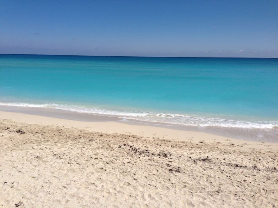 soft sand beach