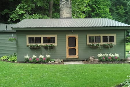 Cabin 60 Acres w/ Pond/Creek/Falls - Wooster