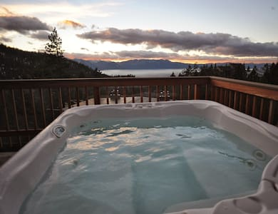 Private Hot Tub Overlooking Tahoe