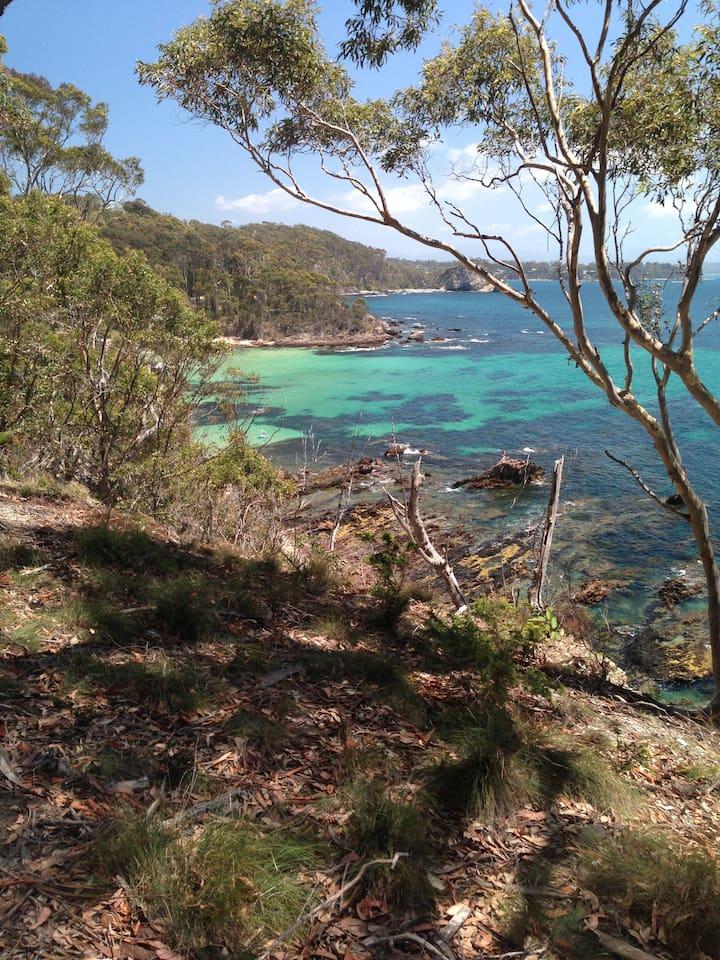 Coastal walk 2 mins from your accommodation