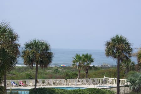 Oceanfront Amazing Views 10 Mi-Downtown Charleston - コンドミニアム