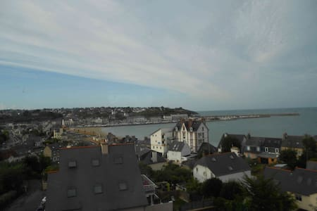 Appartement cosy avec vue sur mer - Binic - Apartament