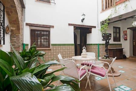 Estudio en casa con patio andaluz