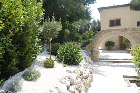 Chambre avec grande SDB dans domaine privé - Mougins - Villa