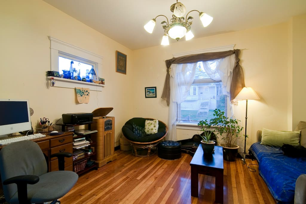 Home comforts close to downtown