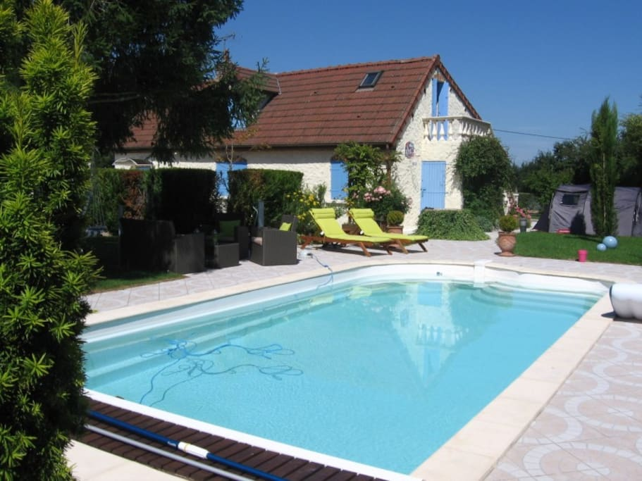 location maison piscine bourgogne villas louer