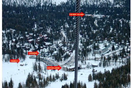 SKI-IN / Spoil Yourself ONLY 120 yards to lift !! - Mammoth Lakes