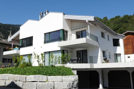 Wohnen wie zuhause in Schluein/LAAX - Appartement