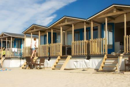 Luxe strandhuisjes OP het strand! - Wijk aan Zee