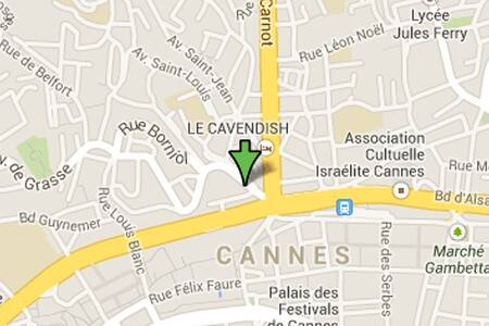 Cannes 5 mns walk Croisette Palais WiFi - Cannes - Appartamento