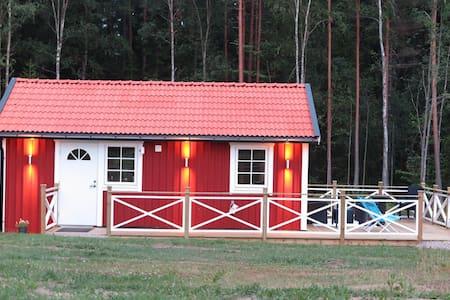 Charmig gårdsstuga i lantlig idyll - Solnehult - Chalet