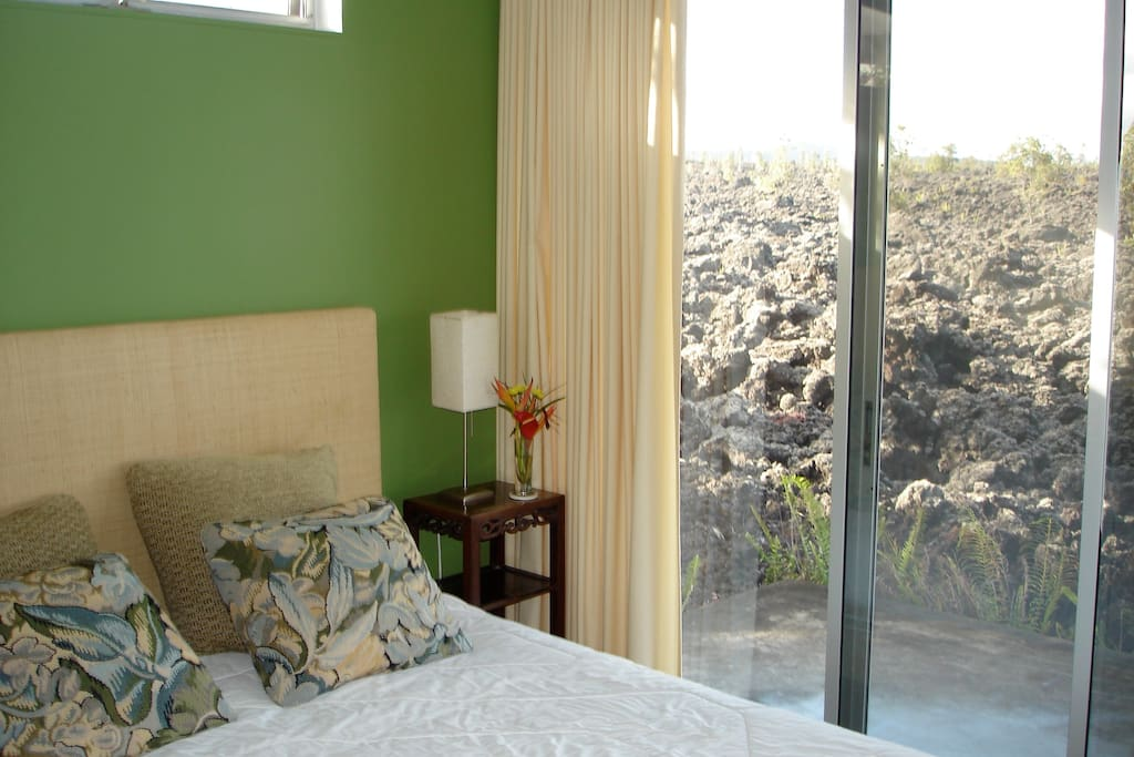 Downstairs guest room, private and gorgeous views