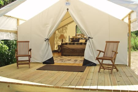 Glamping St. Louis-Willow Haven - Tent