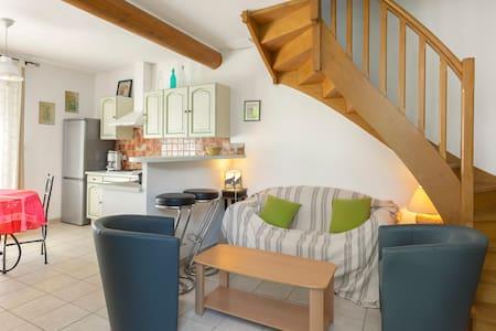 Maison en campagne avec piscine - Malemort-du-Comtat - Dom