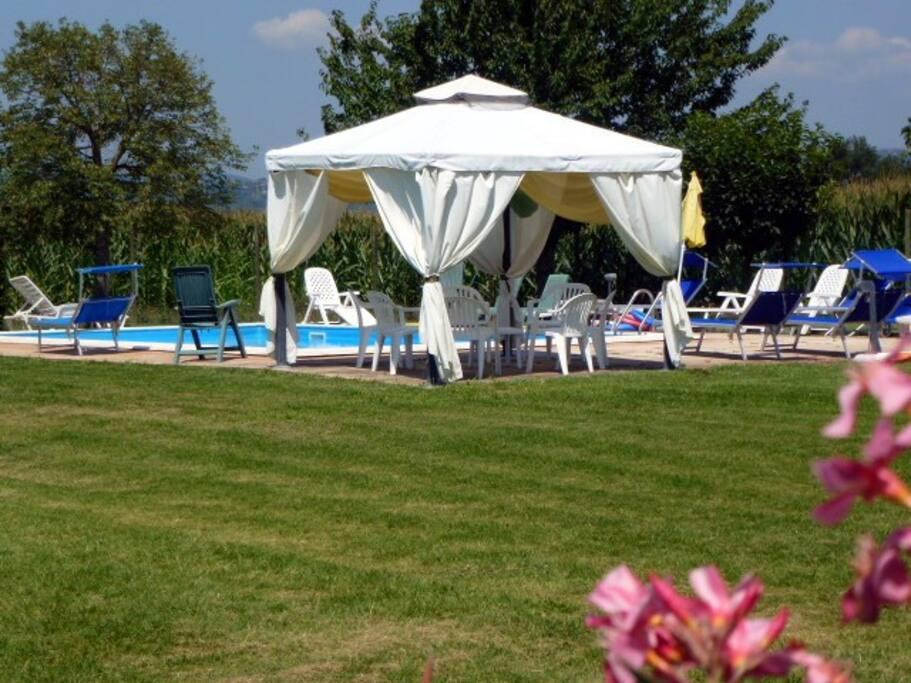 Apt. MELA with Pool at I MORI GELSI