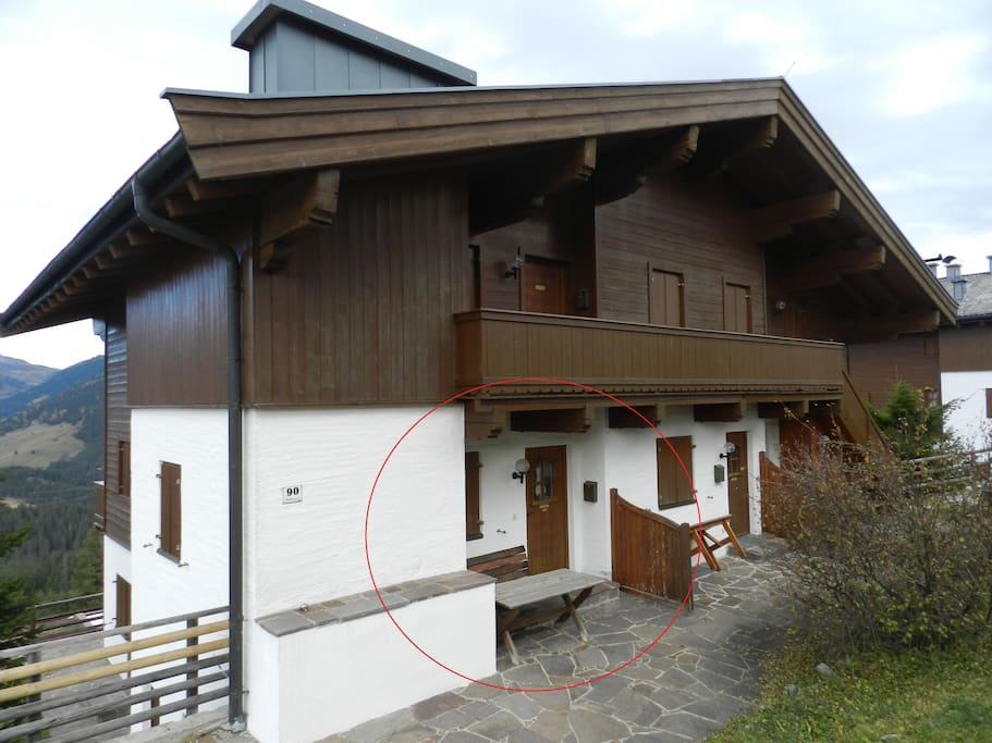 Holiday House with marked appartement