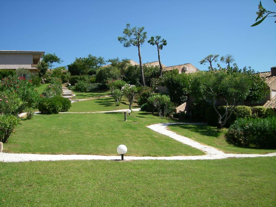 Villa située dans une résidence surveillée avec code d'accès