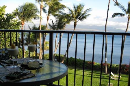 Romantic Maui Oceanfront Condo - Apartamento