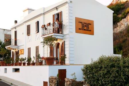 b&b casa gallasso camera bianca - Santa Teresa Gallura