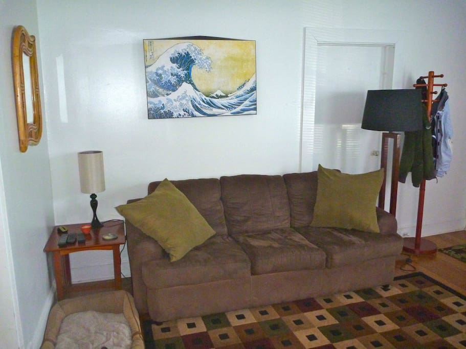 living room, comfy couch